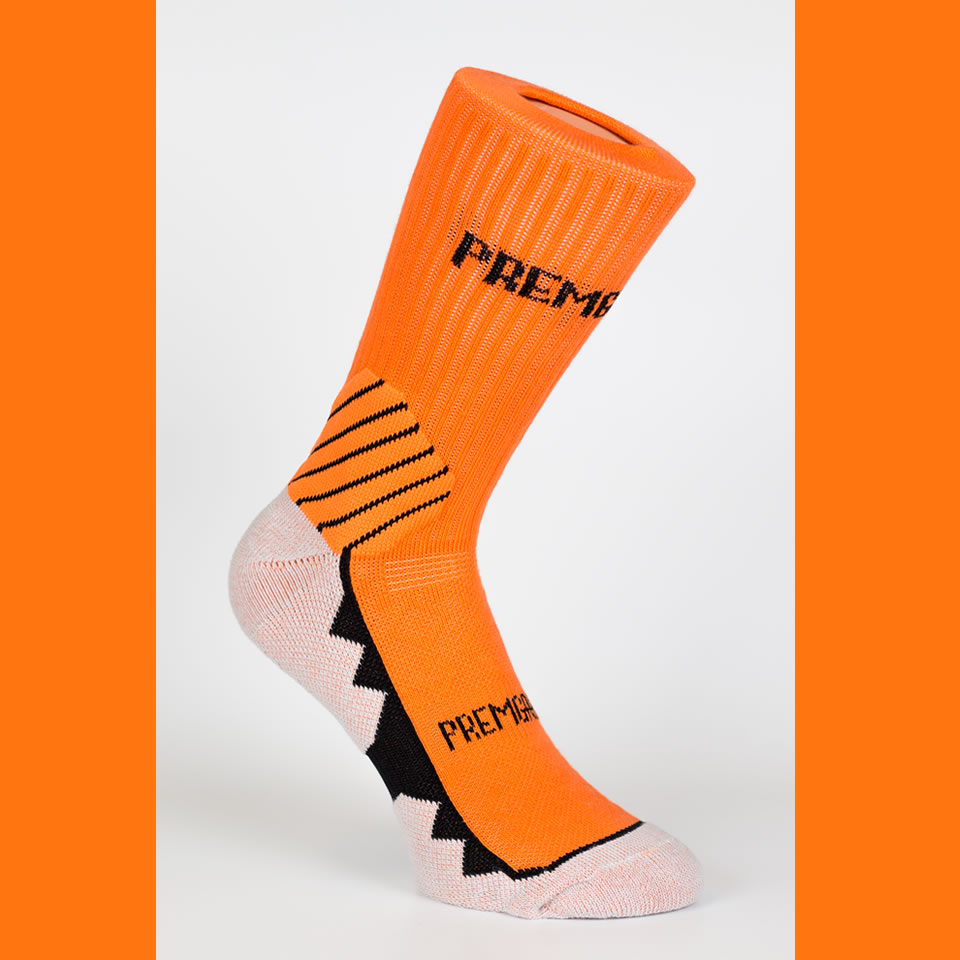 Premgripp Tangerine Orange Anti-Slip Socks