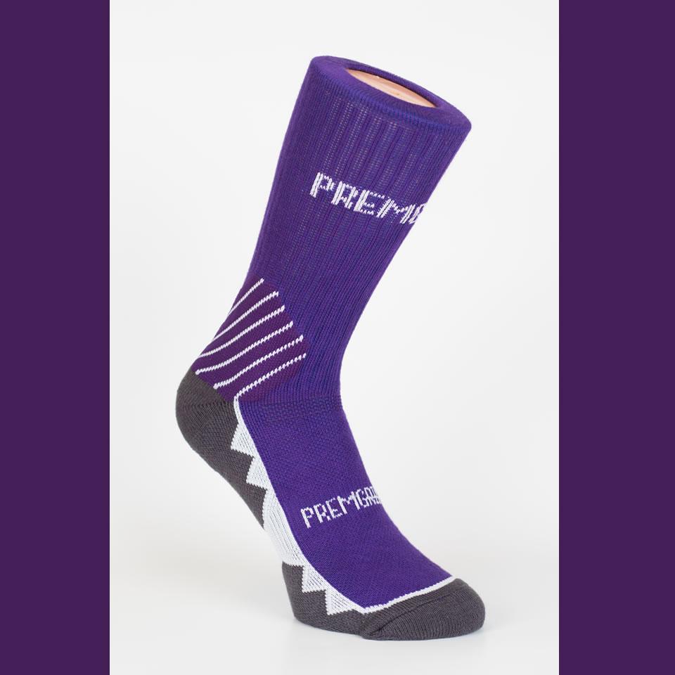 Premgripp Purple Anti-Slip Socks